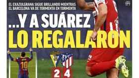 La portada del diario MARCA