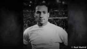 Justo Tejada, histórico jugador del Real Madrid
