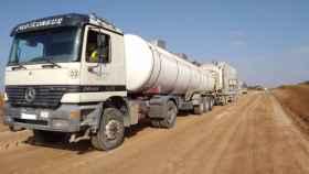 Trabajos en la carretera CUV-8302. Foto: Diputación de Cuenca