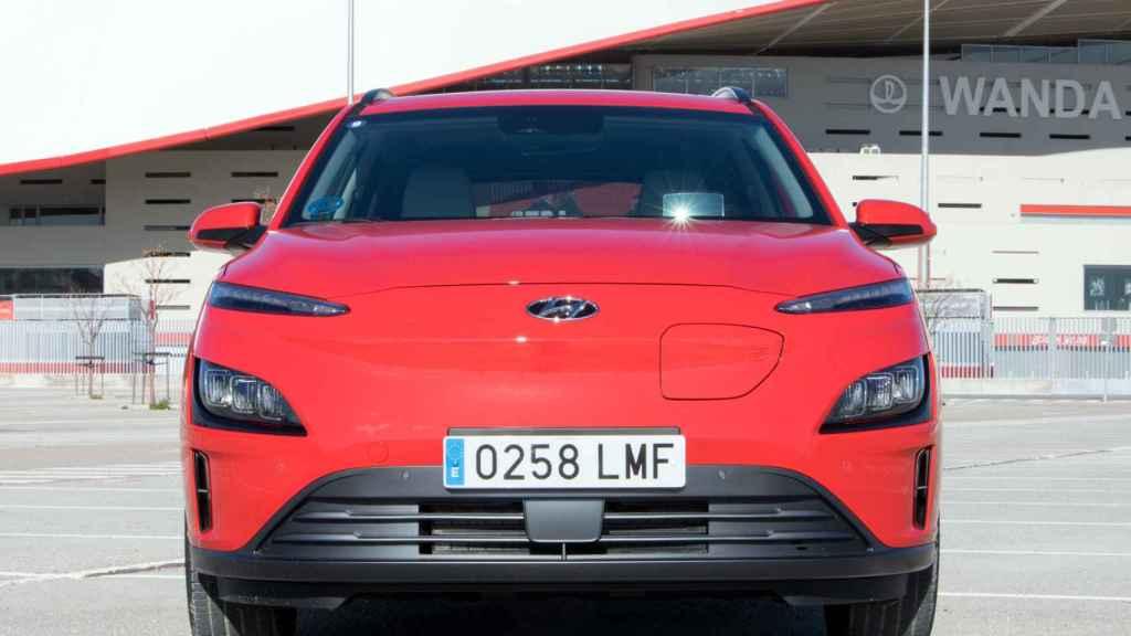 El frontal del Hyundai Kona recibe un cambio radical.