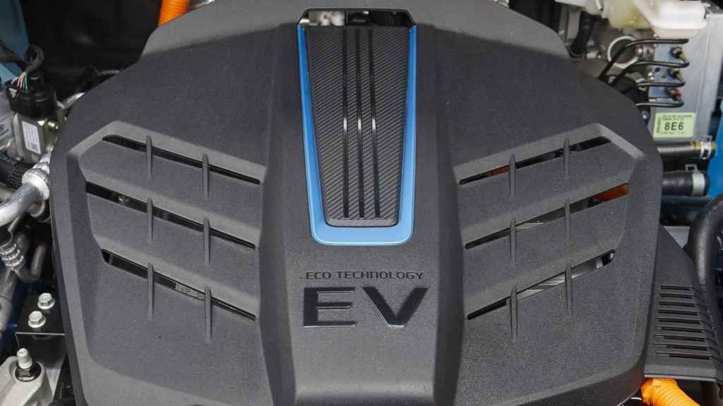 El motor eléctrico probado tenía 204 CV de potencia.