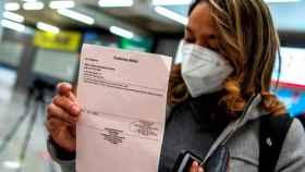 Una viajera procedente de Alemania llega a Palma de Mallorca con una PCR con resultado negativo.