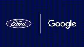 Logotipos de Ford y Google, ahora en alianza