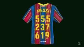 El número de Messi.