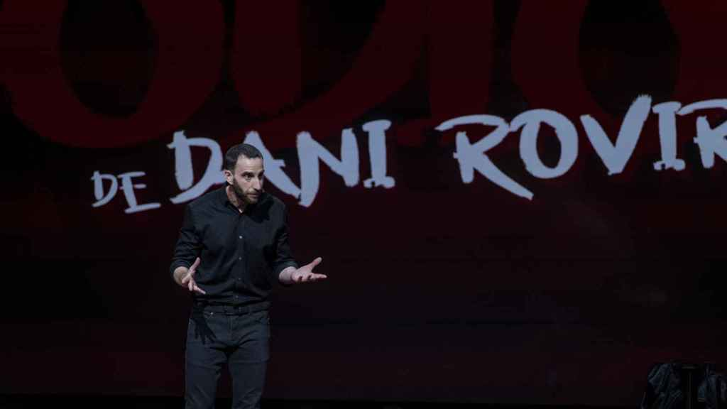 Dani Rovira estrena su primer monólogo de Netflix el 12 de febrero.