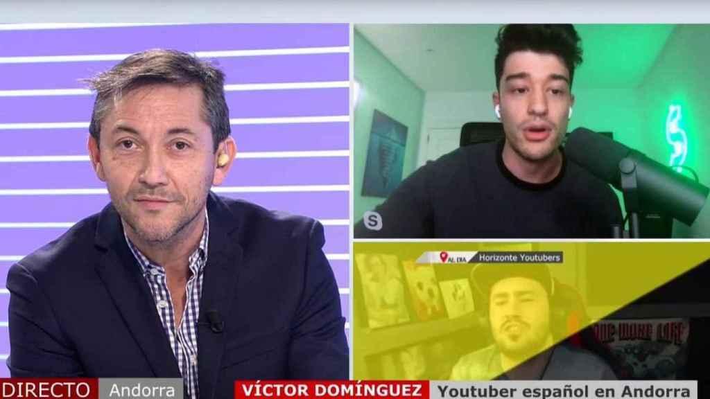 Javier Ruiz desmintió los planteamientos de Wolverine en 'Cuatro al día'.