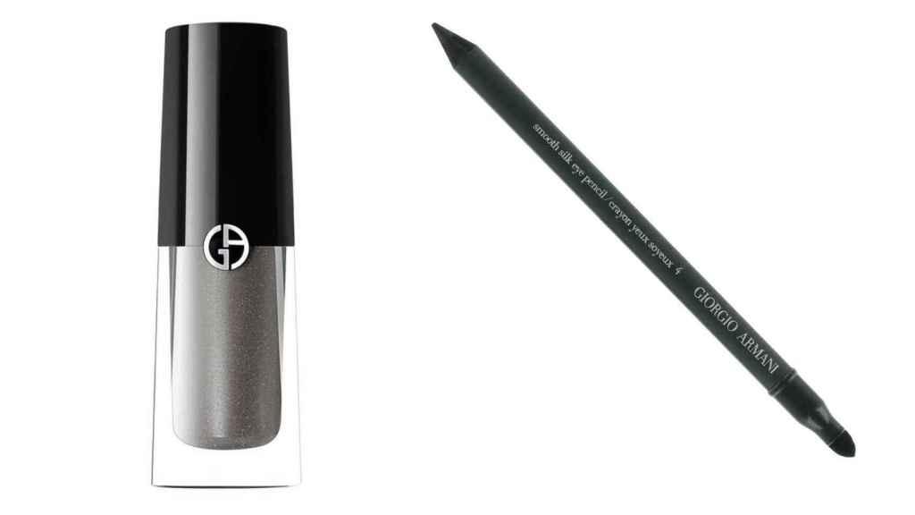 La experta ha optado por una sombra en tonos grises y el clásico lápiz negro.