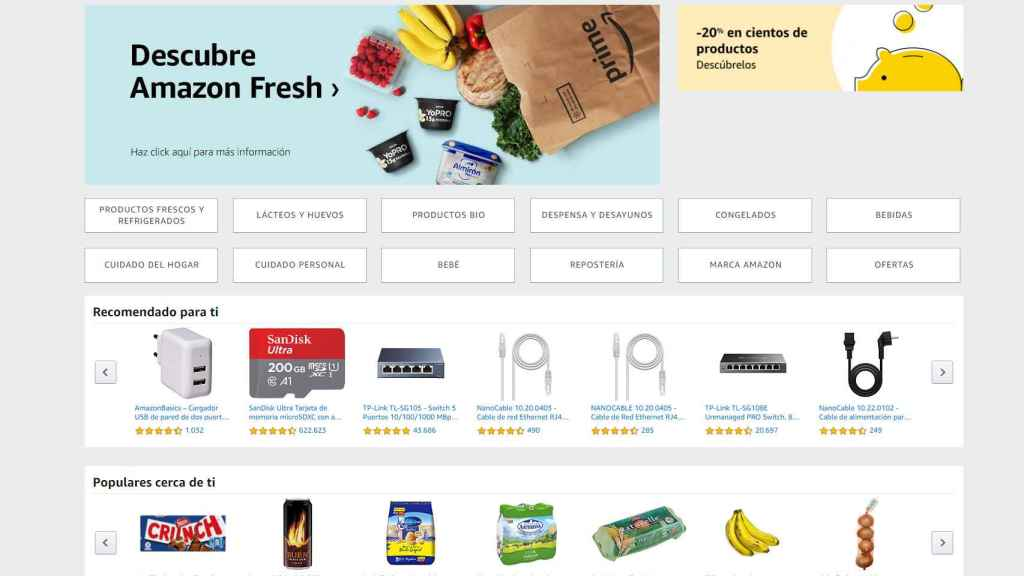Amazon Fresh.