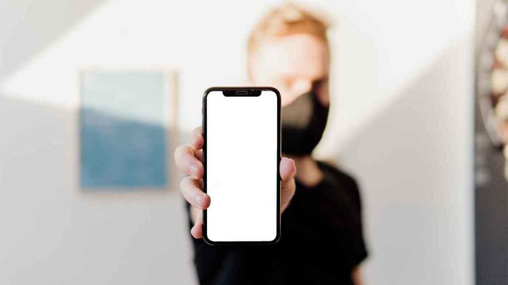 iPhone desbloqueado.
