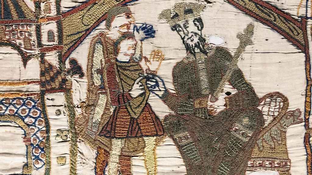Eduardo el Confesor y Harold.