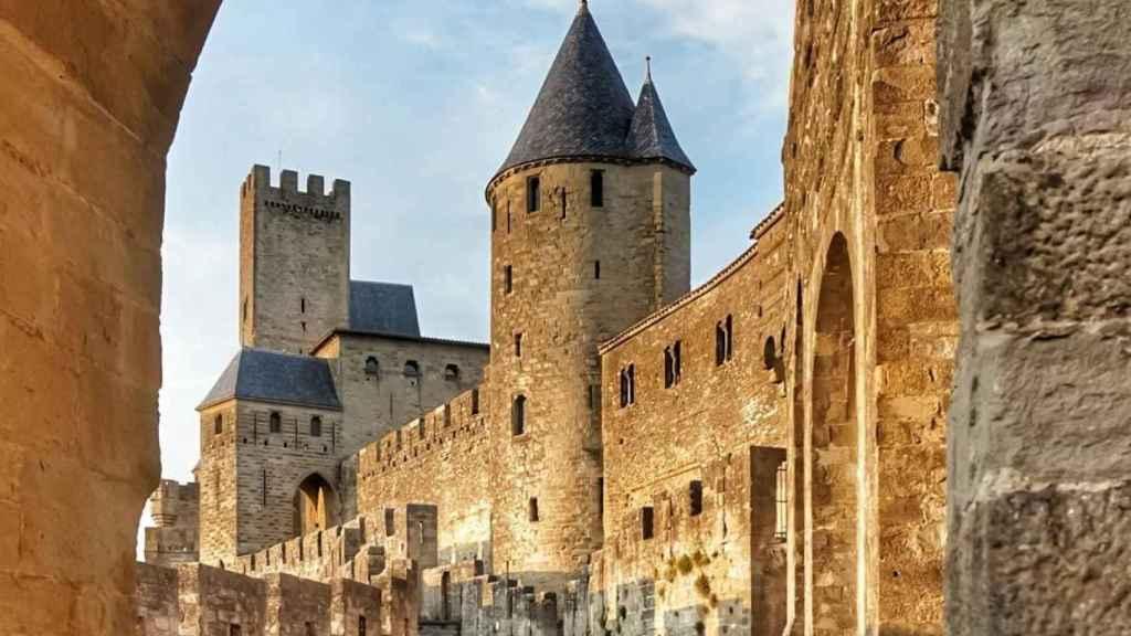 Castillo de Carcassonne (Francia)