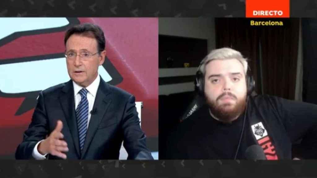 Ibai Llanos fue entrevistado en 'Antena 3 Noticias'.