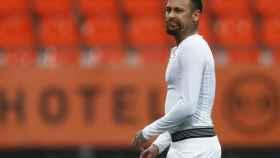 Neymar Jr. tras un partido del PSG