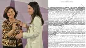 Carmen Calvo e Irene Montero, en el traspaso de la cartera del Ministerio de Igualdad.