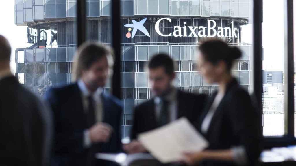 Imagen de una oficina de CaixaBank.