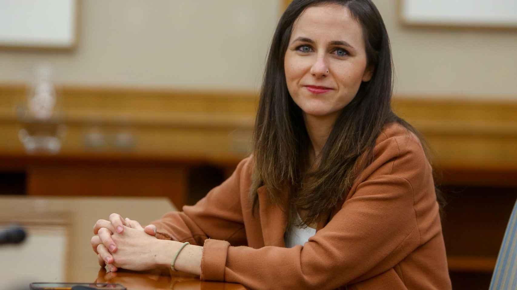 La secretaria de Estado para la Agenda 2030 y dirigente de Unidas Podemos, Ione Belarra.