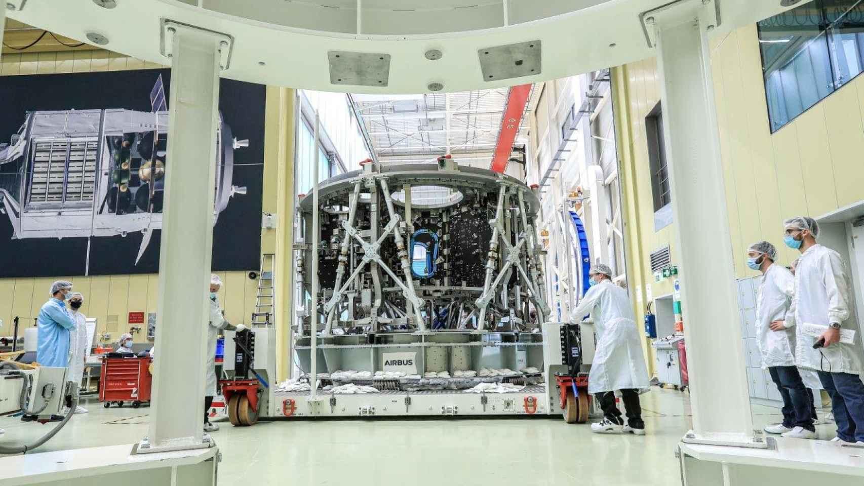 Módulos de Airbus para la nave Orion