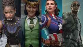 'Falcón y Soldado de Invierno', 'Loki', 'What If...' y 'Ms. Marvel'.