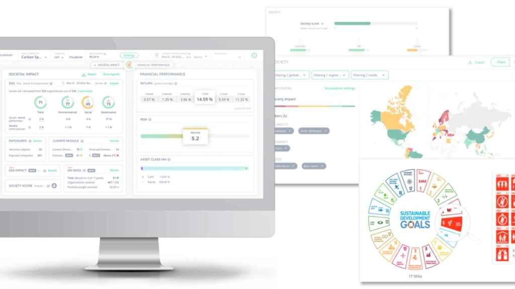La plataforma Clarity AI analiza el impacto social y mediomabiental de las inversiones.