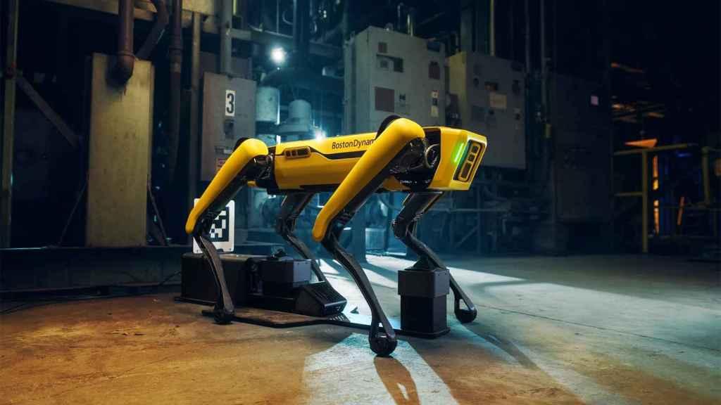 Spot es un perro robot para todo tipo de tareas