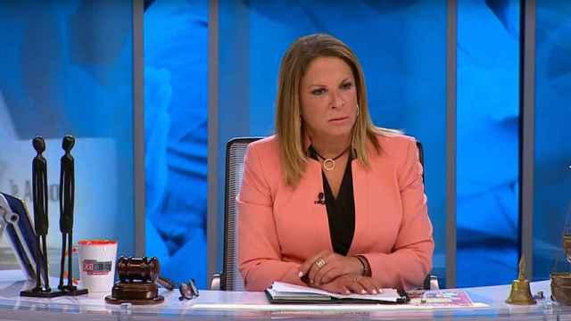 Ana María Polo ha protagonizado un tenso momento en 'Caso cerrado'.