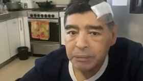 El último vídeo de Maradona
