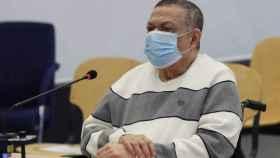 Inocente Orlando Montano, durante el juicio en la Audiencia Nacional./