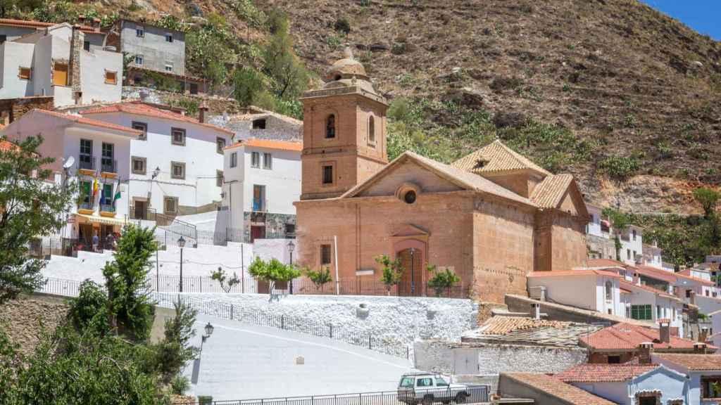 Una imagen de la localidad de Laroya, en Almería.