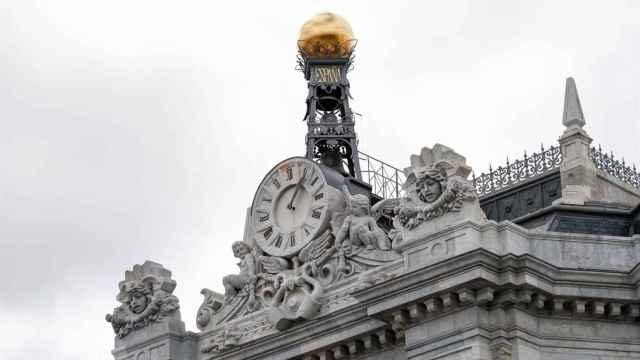 Reloj del Banco de España | EP