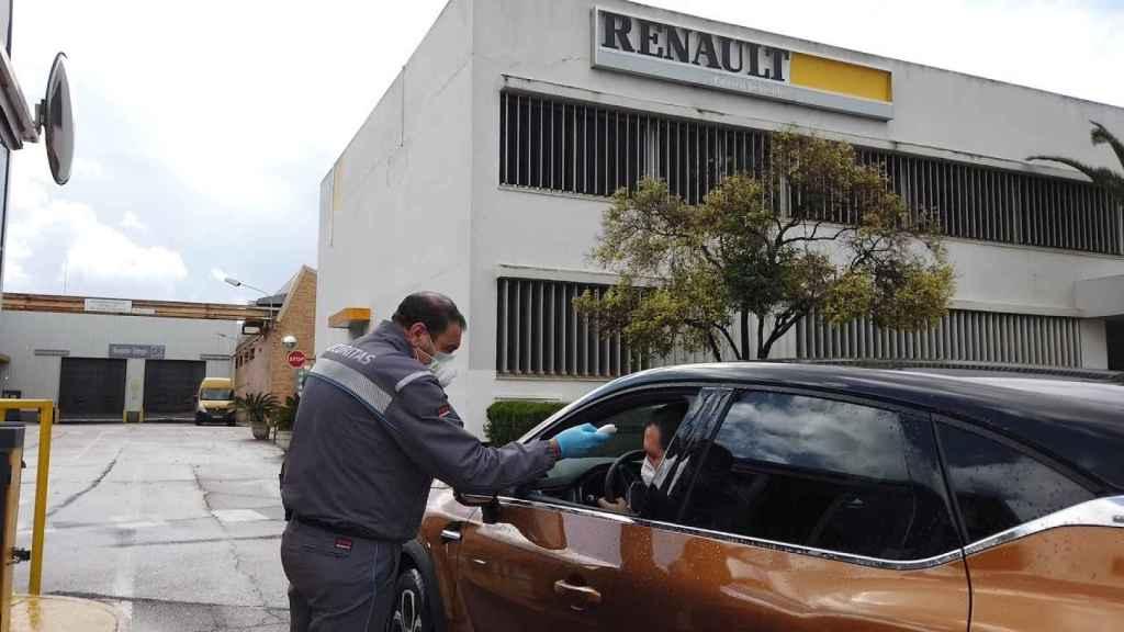 Factoría sevillana de Renault.