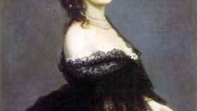 Condesa de Castiglione pintada en París, 1862.