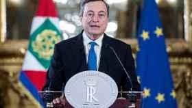 Mario Draghi al aceptar el encargo de formar Gobierno.