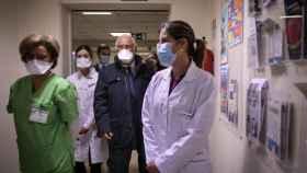 Antonio Costa sigue el proceso de vacunación contra la Covid-19 en Lisboa.