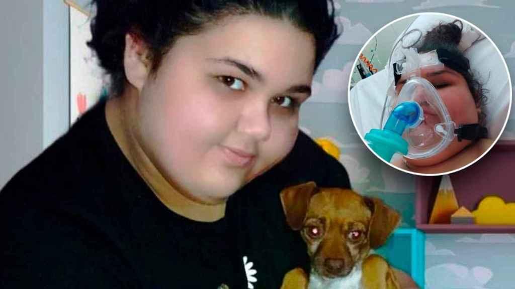 María Sherezade, de 14 años, ha pasado tres días en una UCI de Cartagena.