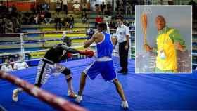 Madala Tounkara compagina su trabajo como pizzero en Gran Canaria con el boxeo.