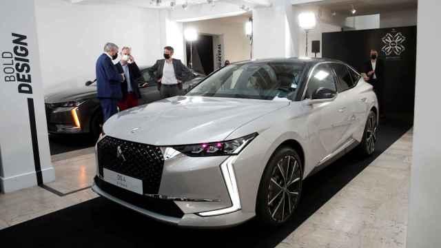 Uno de los vehículos de Stellantis durante su presentación en París.