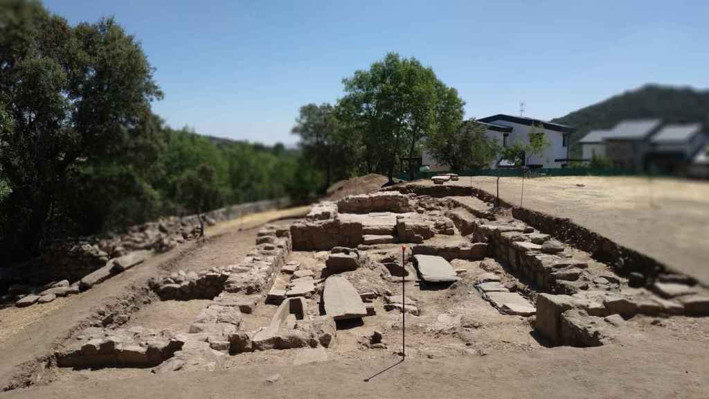 Vista general del yacimiento de El Rebollar.