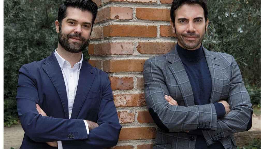 Luis Alberto Zamora (izda.) y Alberto Herrera (dcha.)