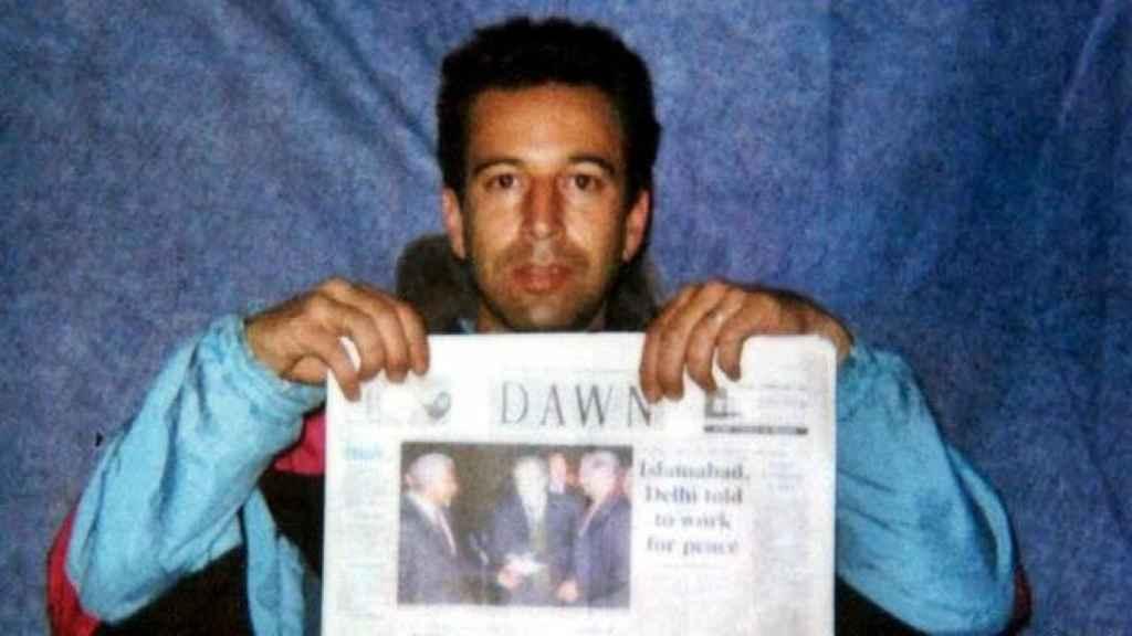 El periodista Daniel Pearl.