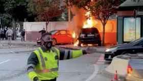 Accidente de tráfico en Málaga