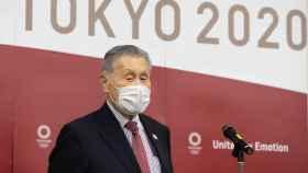 Yoshiro Mori, presidente del comité organizador de los JJOO de Tokio 2020