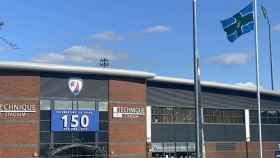 El estadio del Chesterfield FC. Foto: Twitter (ChesterfieldFC)