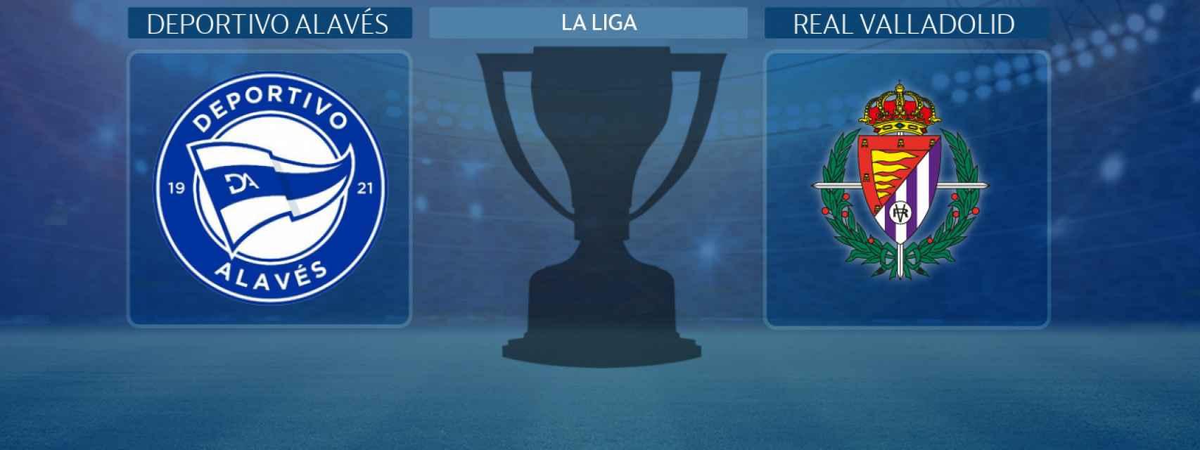 Deportivo Alavés - Real Valladolid, partido de La Liga