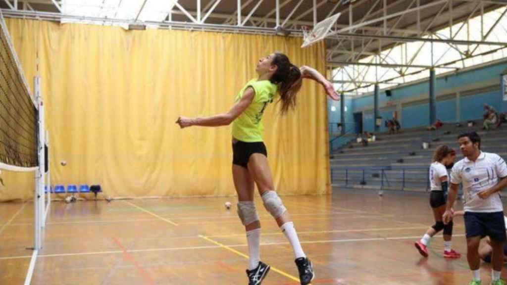 Omy Perdomo, jugadora transgénero de voleibol