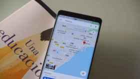 Google Maps hace pruebas con un diseño minimalista para las rutas