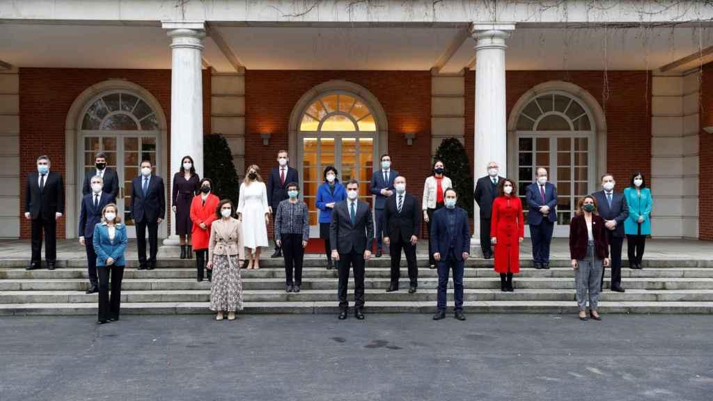 El Consejo de Ministros que ha dado luz verde a las prórrogas de los ERTE.
