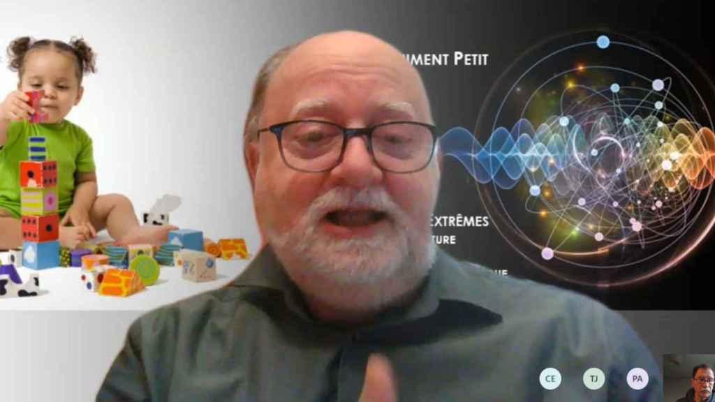 Marko Erman, jefe de ciencia de Thales, durante la entrevista con D+I