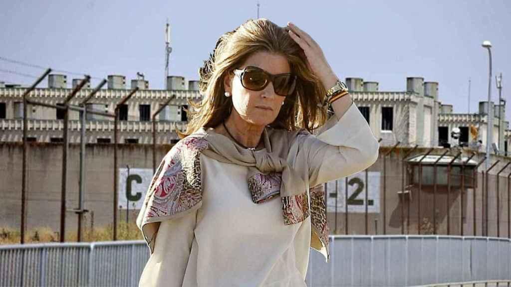 Rosalía Iglesias, esposa de Luis Bárcenas,  extesorero del PP.