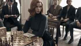 Una imagen de la serie Gambito de Dama, en Netflix.