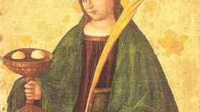 Santa Águeda de Catania.